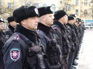 Военнослужащие на охране общественного порядка и безопасности граждан