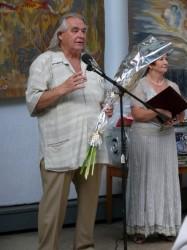 Степан Джус подарил  ялтинцам свое творчество