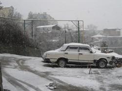 В Ялте снег, но синоптики прогнозируют потепление