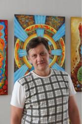Космическо-сказочная выставка Евгения Зебека