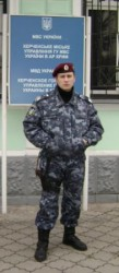 Сотрудник отдельной роты ПМОН «Беркут» пресек разбойное нападение